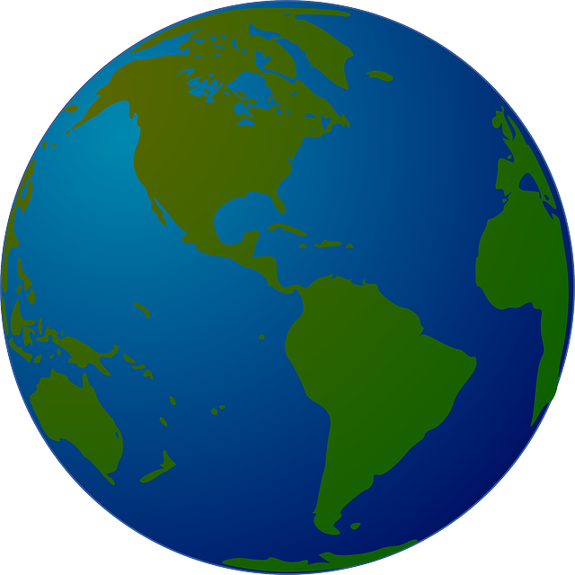 Apple globe world map clipart vector library Free Image on Pixabay - Earth, World, Globe, Map, Planet | Pinterest ... vector library