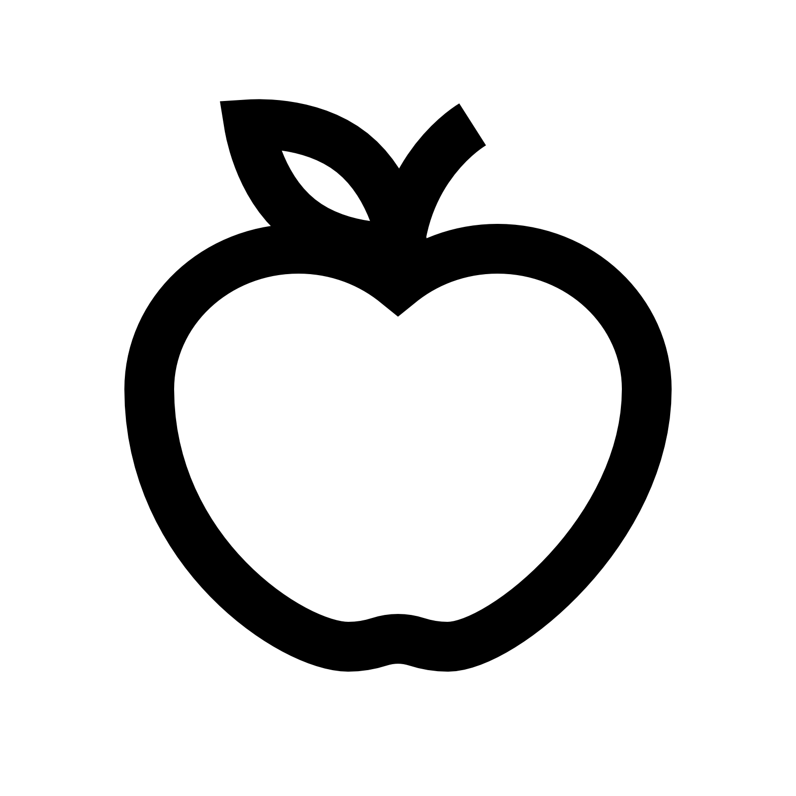 Apple halves clipart banner North Central Companies - Fruits & Nuts banner