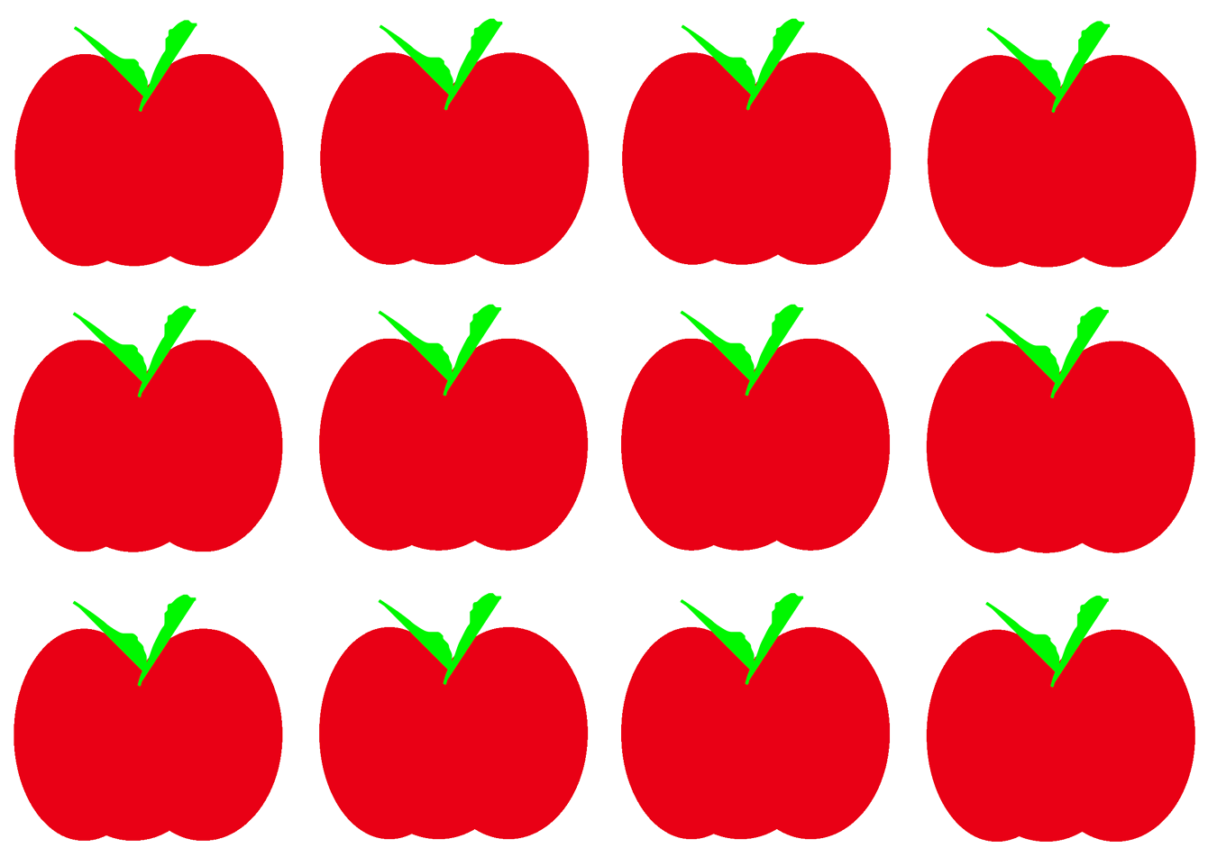 Apple halves clipart clip art royalty free stock Differentiated Best of Math 3 | How Many Apples? clip art royalty free stock
