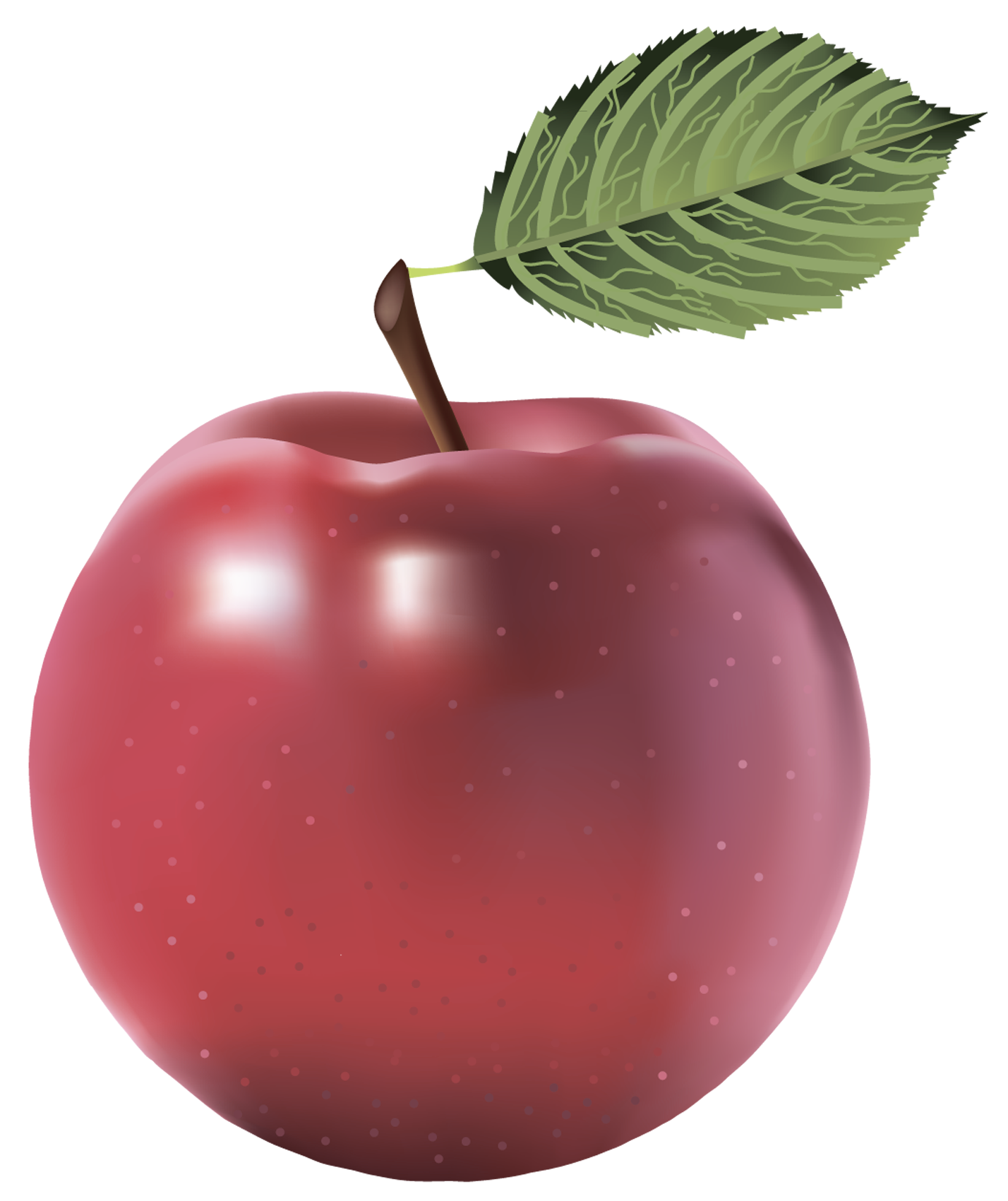 Painted apple clipart vector freeuse Large Red Painted Apple PNG Clipart | FRUIT AND VEGETABLES CLIP ART ... vector freeuse