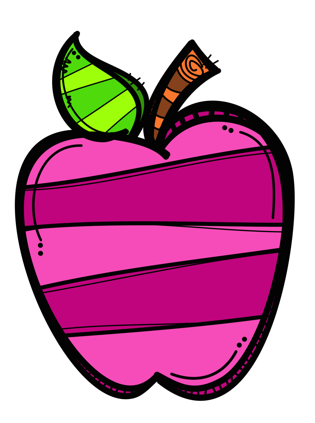 Apple school clipart vector free download ✿*UY..QUE TE COMO*✿* | MelonHeadz | Pinterest | Clip art, Clipart ... vector free download