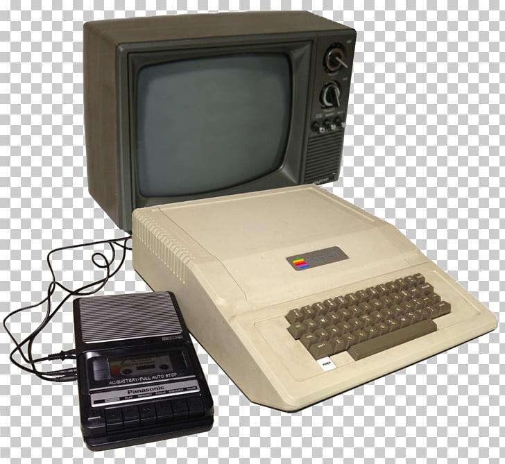 Apple ii clipart banner black and white Apple IIe Apple II series Apple II Plus, Vintage Computer PNG ... banner black and white