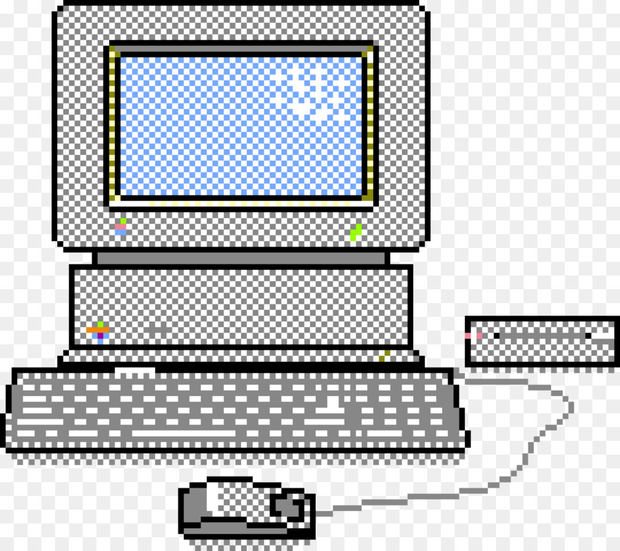 Apple ii clipart svg royalty free stock Apple Background clipart - Computer, Pixel, Apple, transparent clip art svg royalty free stock