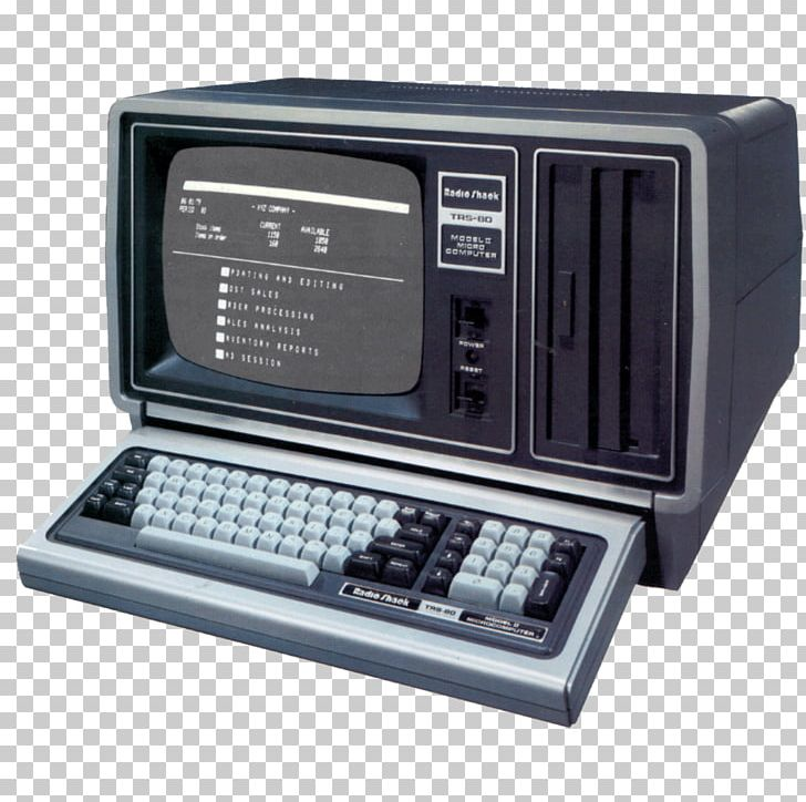 Apple ii clipart png black and white library TRS-80 Model II Apple II Tandy Corporation Microcomputer PNG ... png black and white library