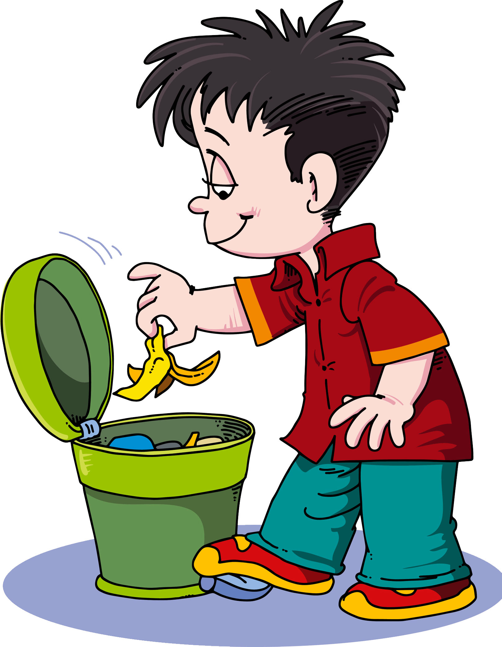Apple in the trash clipart png royalty free download Waste container Clip art - Rubbish thrown into the trash 1619*2086 ... png royalty free download