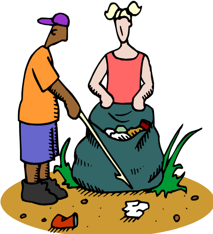 Apple in the trash clipart jpg free library 28+ Collection of People Picking Up Trash Clipart | High quality ... jpg free library