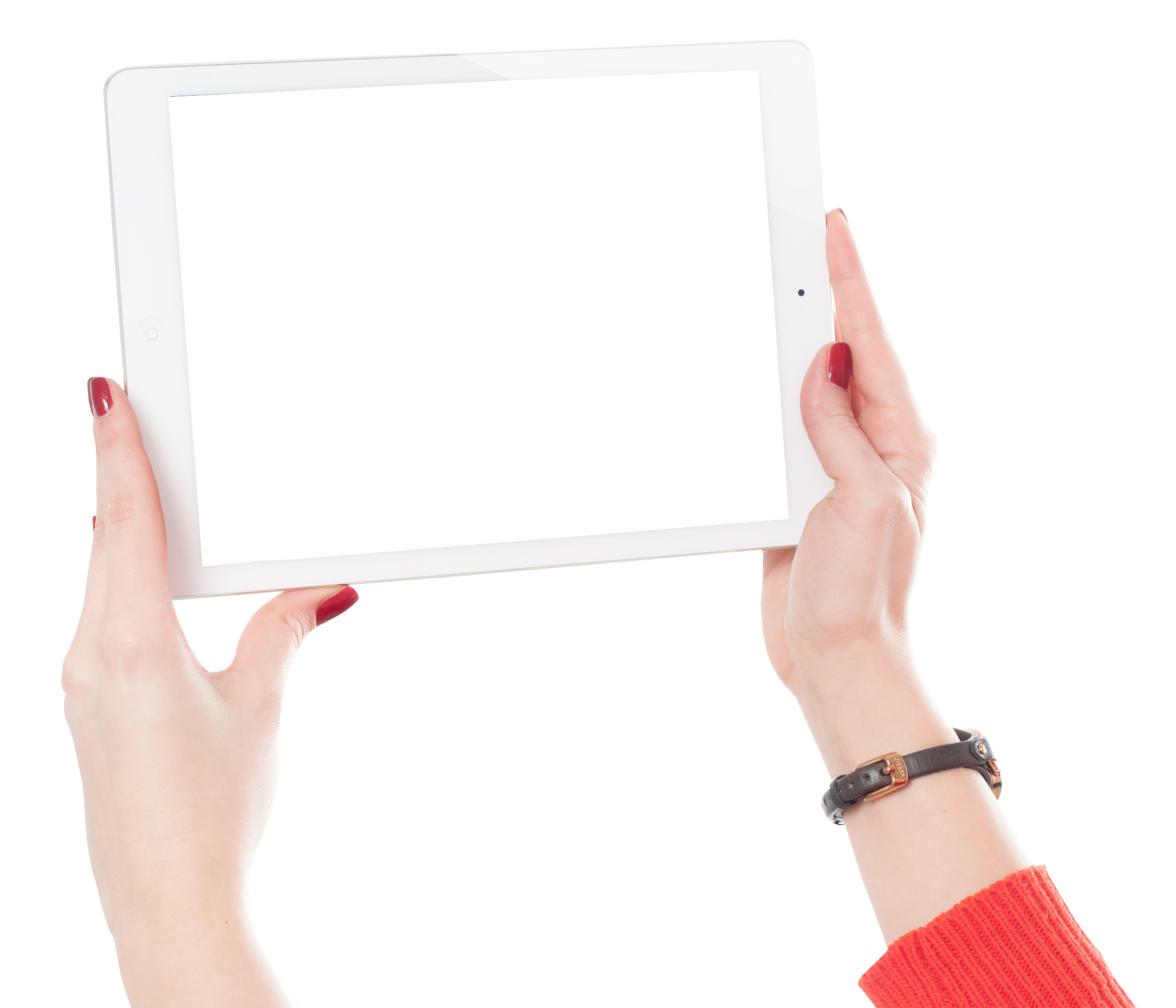 Apple ipad tablet clipart jpg free download Woman Hands Holding iPad PNG Image - PurePNG | Free transparent CC0 ... jpg free download