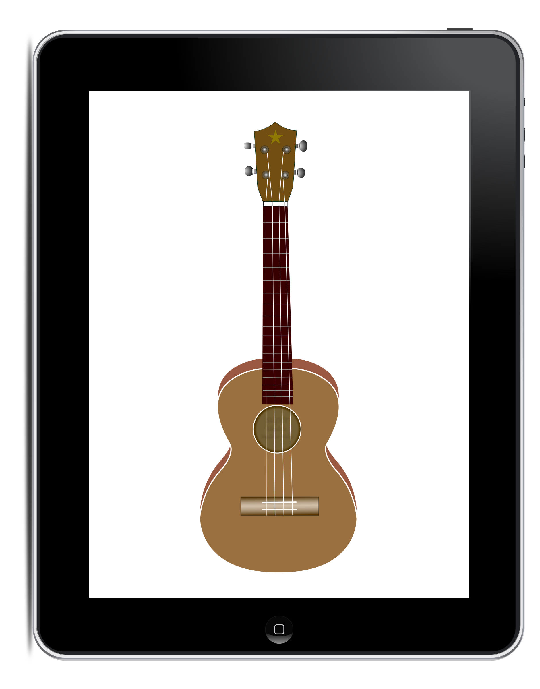 Apple ipad tablet clipart image free library Clipart - Play with Openclipart on your iPad with Inkpad image free library