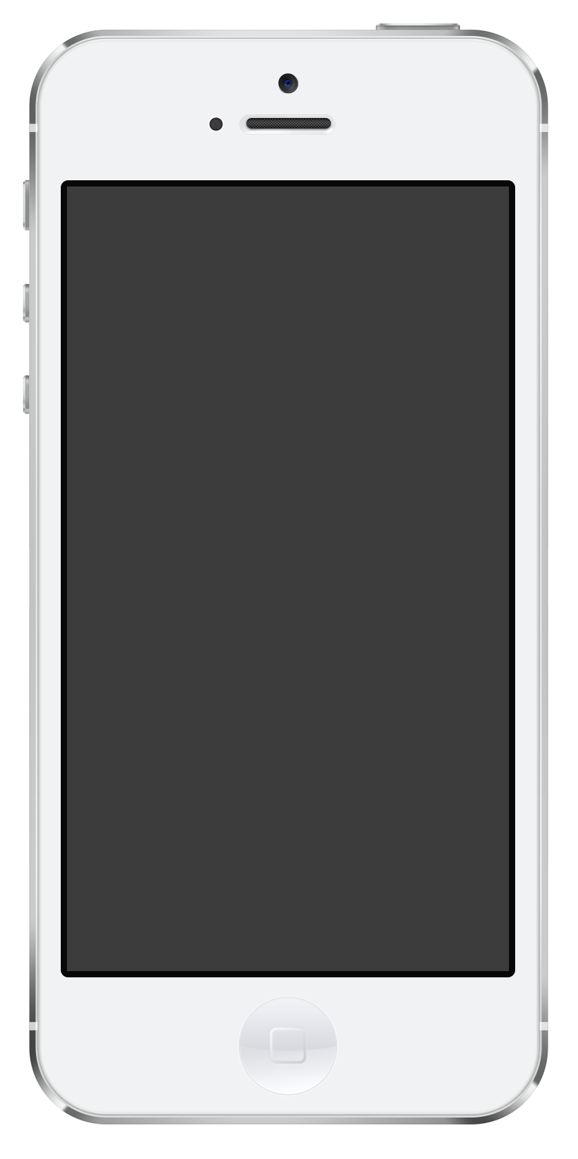 Apple iphone clipart free banner stock Iphone PNG Black And White Transparent Iphone Black And White.PNG ... banner stock