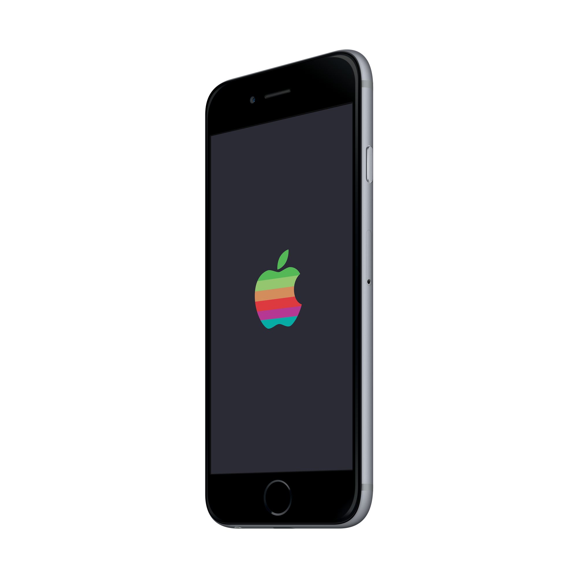 Apple iphone off clipart clip transparent library Retro Apple Logo WWDC 2016 wallpapers clip transparent library