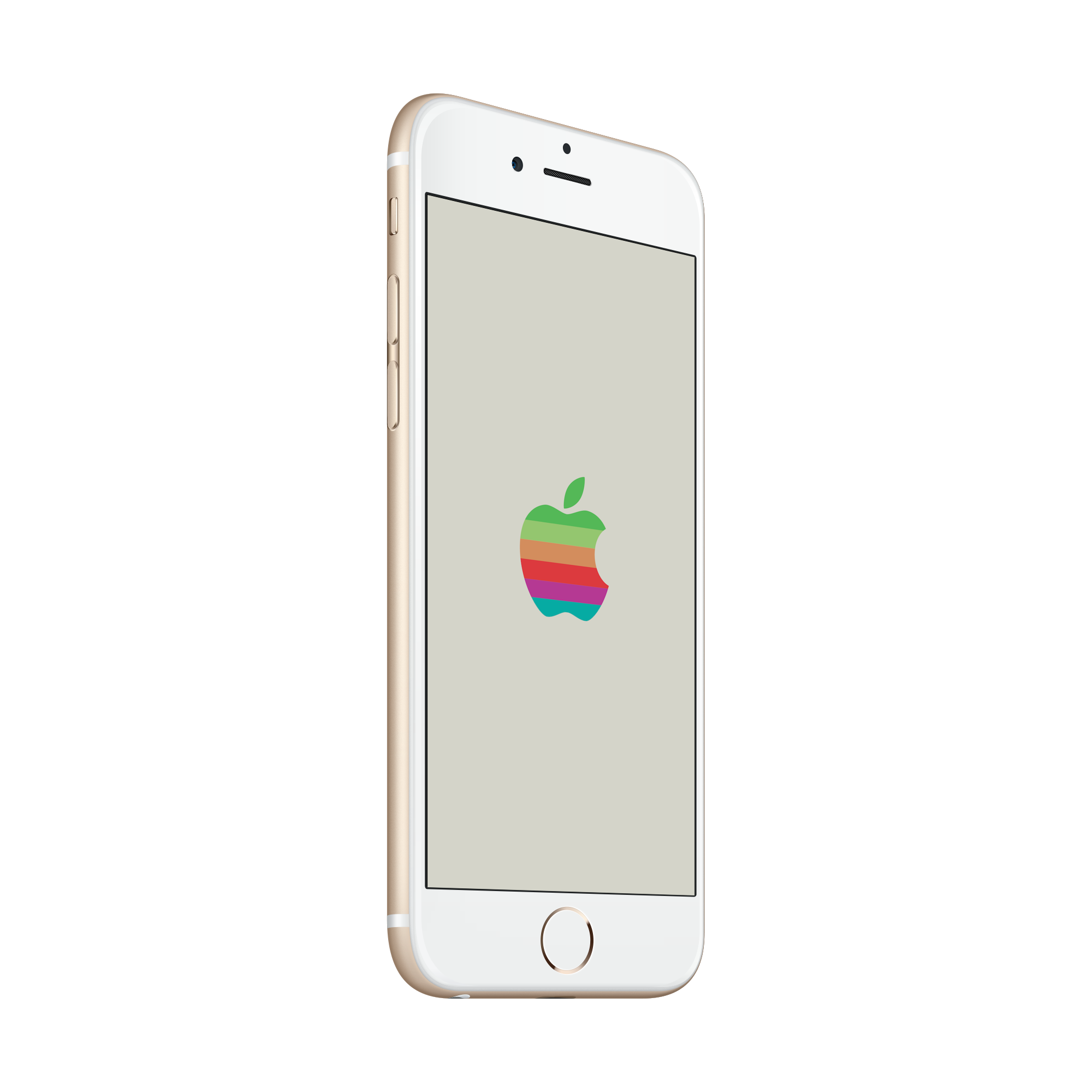 Apple iphone off clipart image free stock Retro Apple Logo WWDC 2016 wallpapers image free stock