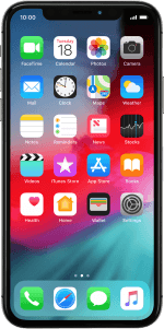 Iphone x image clipart banner royalty free library Apple iPhone X - Set up your phone for internet | Vodafone UK banner royalty free library