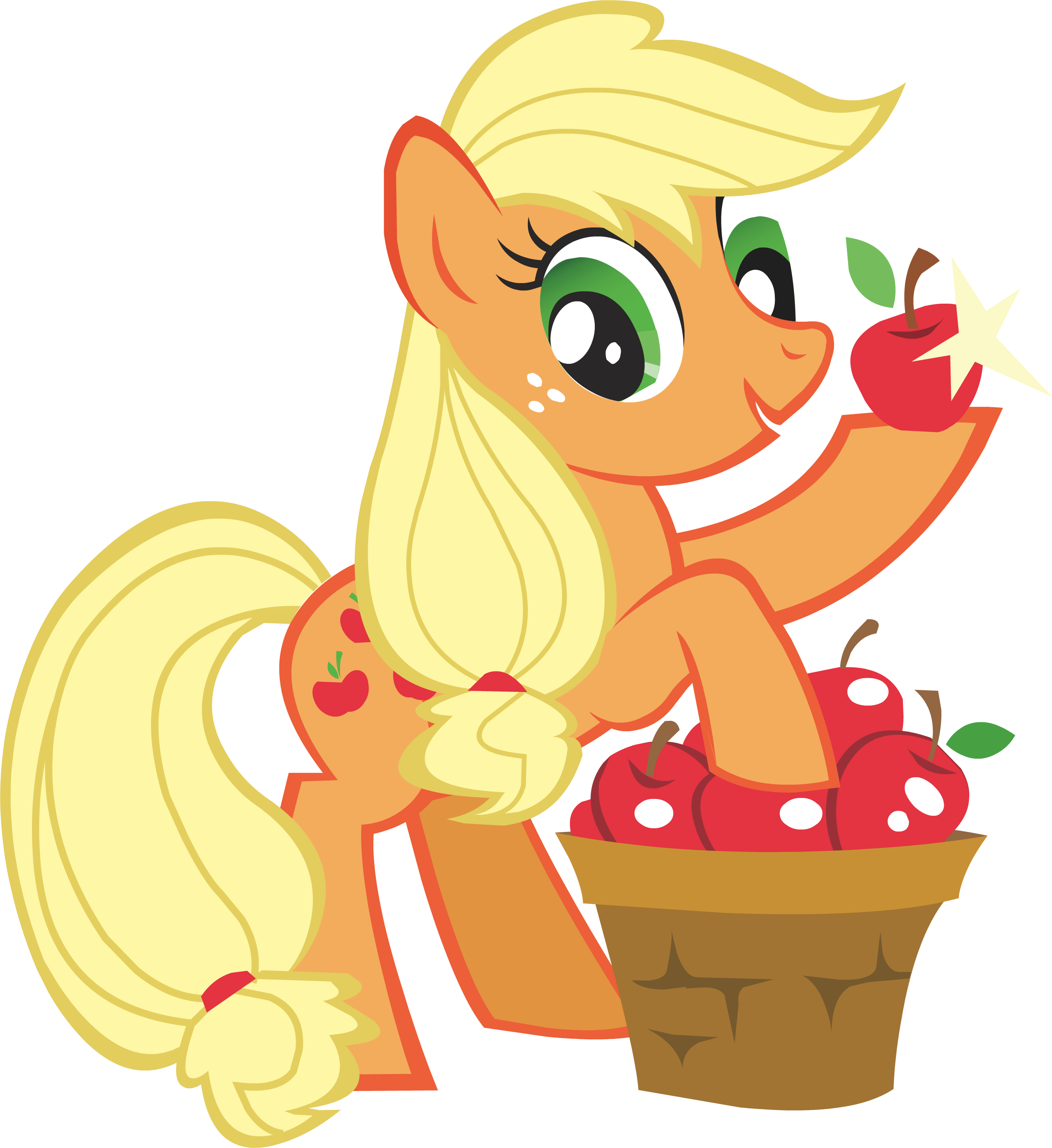 Apple jack clipart clip free My little pony apple jack clip art clipart clip free