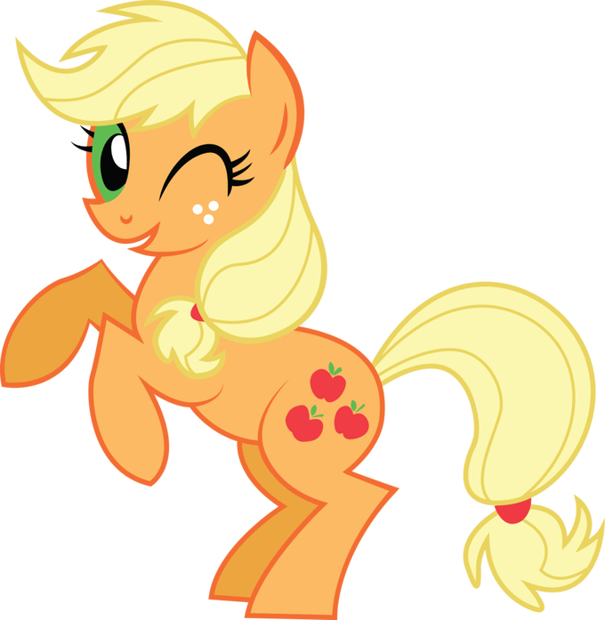 Apple jack clipart image royalty free stock Images Of Applejack From My Little Pony | Siewalls.co image royalty free stock
