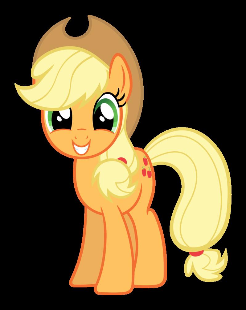 Apple jack clipart royalty free Applejack Smiling by Lonely-Hunter on DeviantArt royalty free