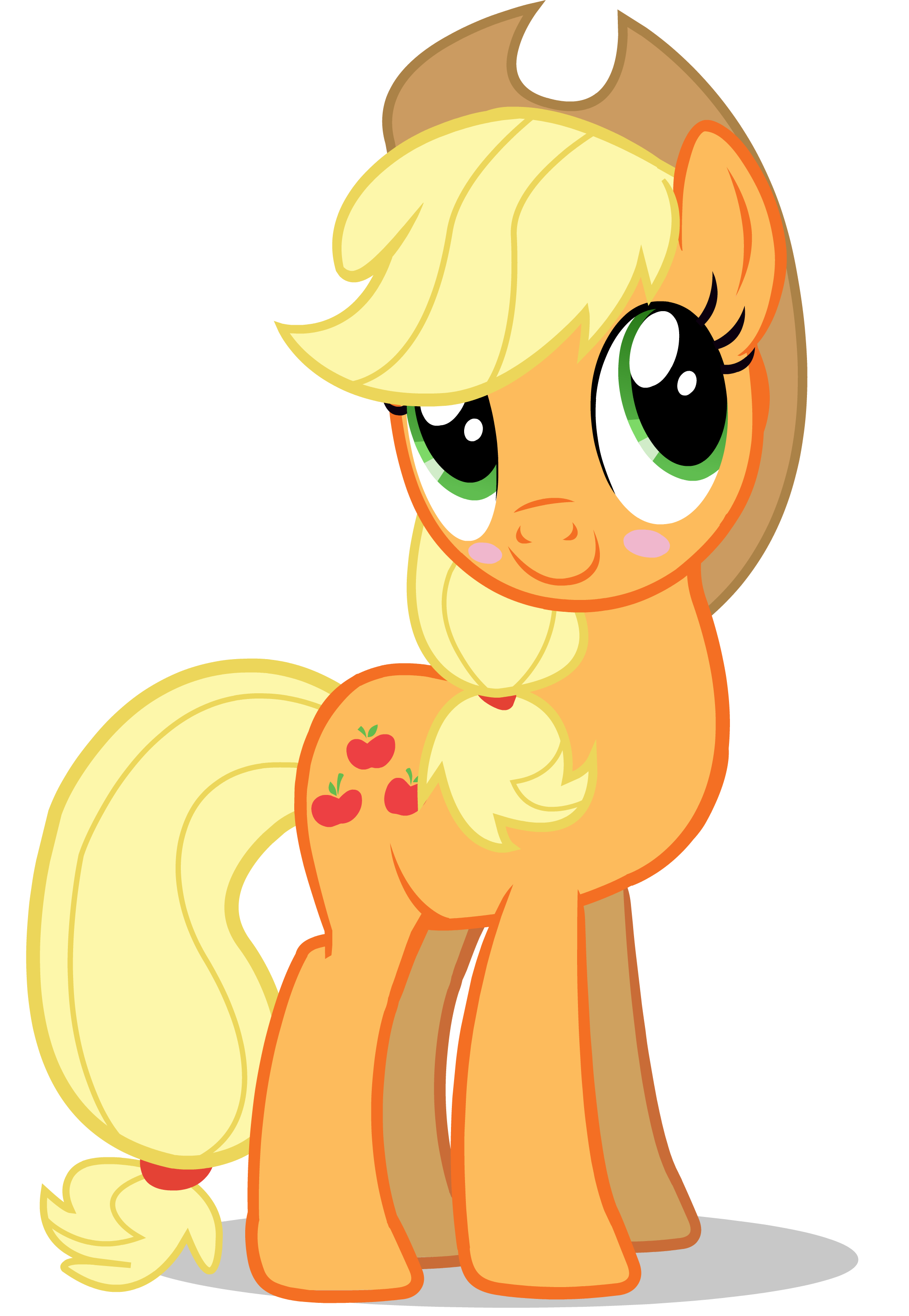 Apple jack clipart image library stock MLP - Applejack Blushing | MLP (My Little Pony Friendship is Magic ... image library stock