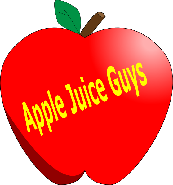 Apple juice clipart picture freeuse stock Apple Juice Guys Clip Art at Clker.com - vector clip art online ... picture freeuse stock