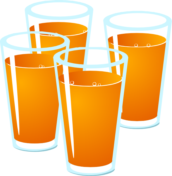Glass of apple juice clipart image royalty free download Orange Juice Clip Art at Clker.com - vector clip art online, royalty ... image royalty free download