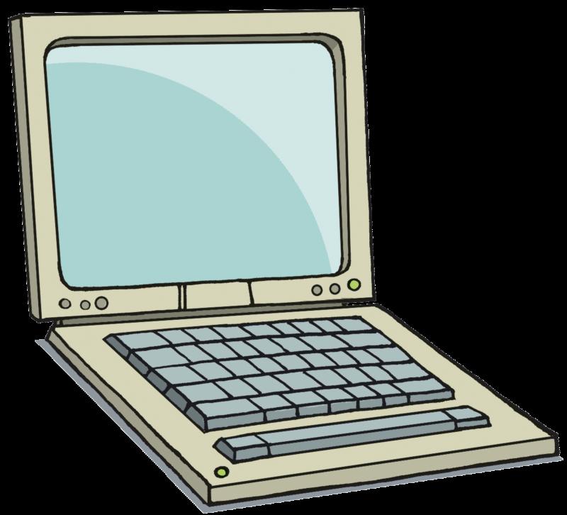 Apple laptop clipart clip art transparent stock Free Laptop Clipart Images Black And White Pictures【2018】 clip art transparent stock