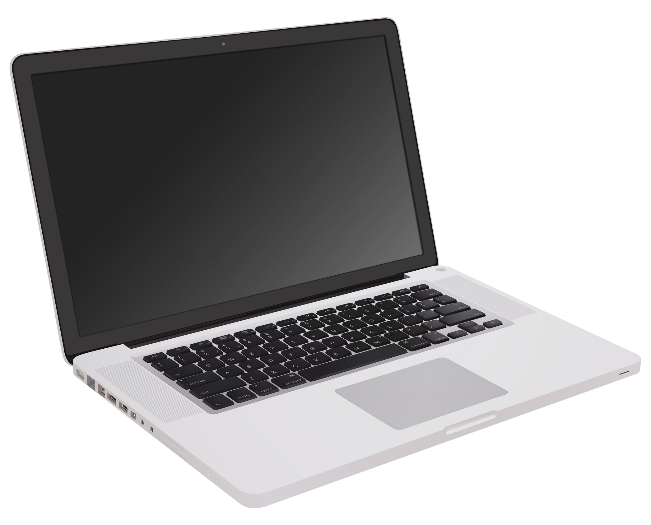 Apple laptop clipart black and white svg stock Macbook PNG Image - PurePNG | Free transparent CC0 PNG Image Library svg stock