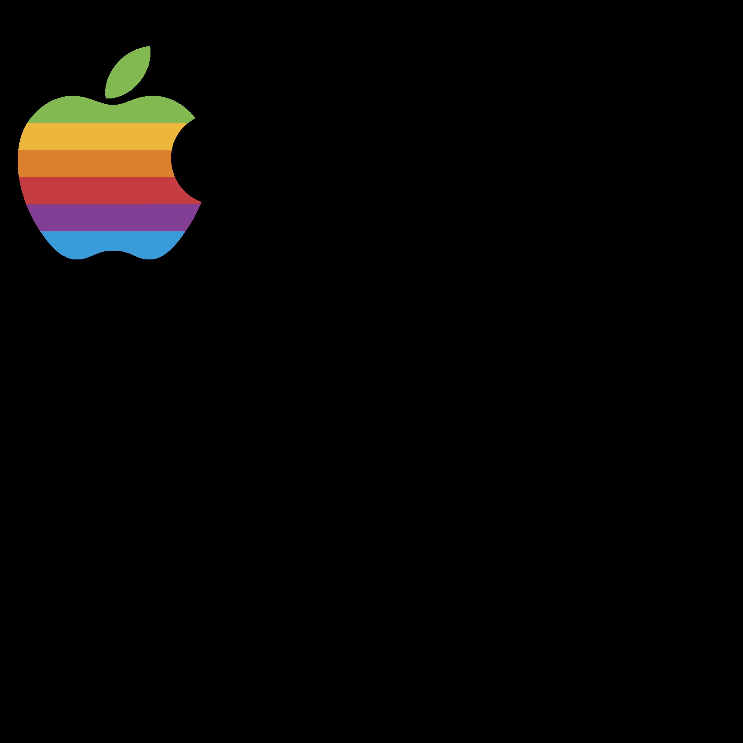 Apple logos or banner clipart clipart transparent Apple Logo PNG Transparent & SVG Vector - Freebie Supply clipart transparent