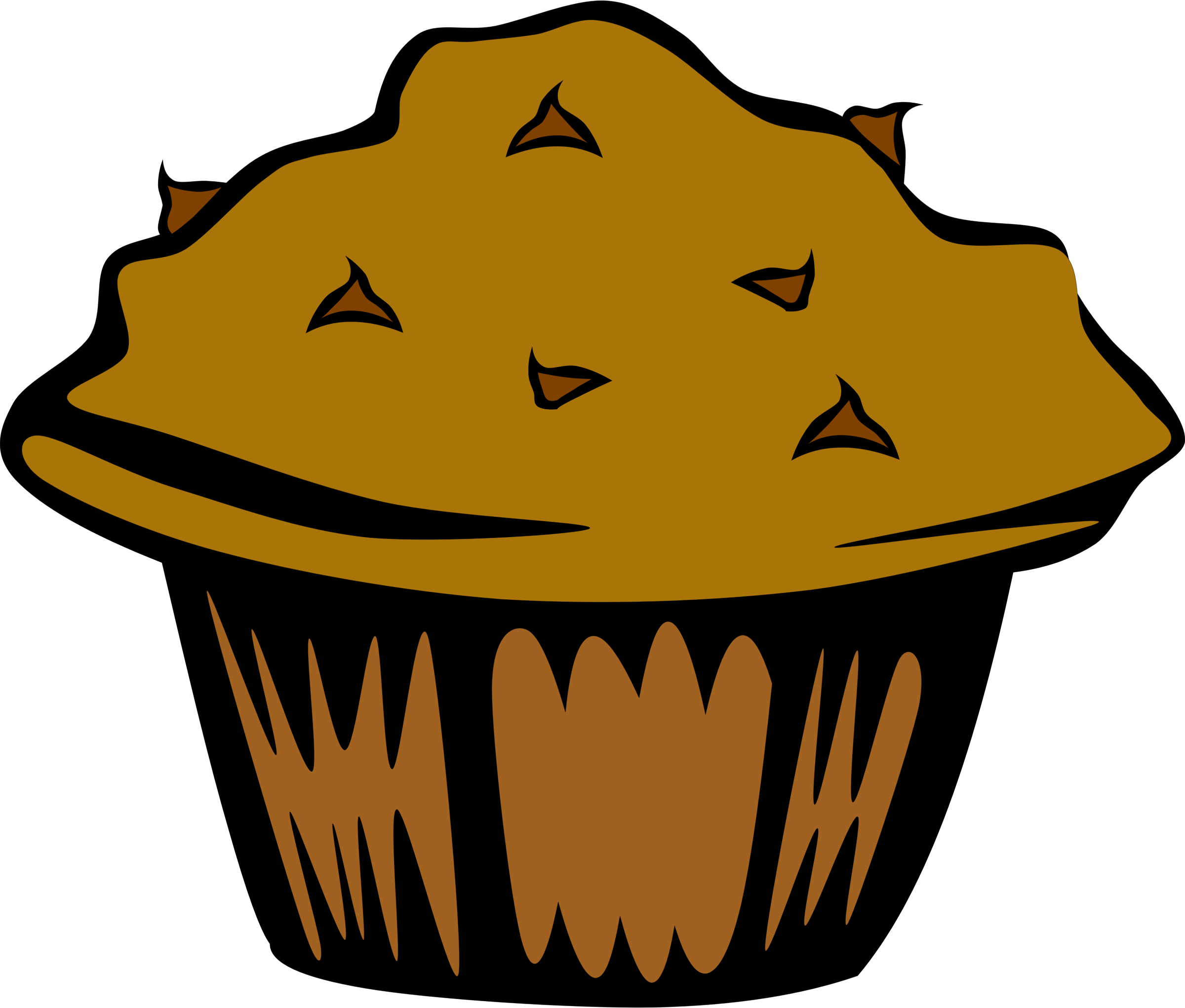 Apple with muffins clipart clipart library stock 19 Baking clipart banana muffin HUGE FREEBIE! Download for ... clipart library stock