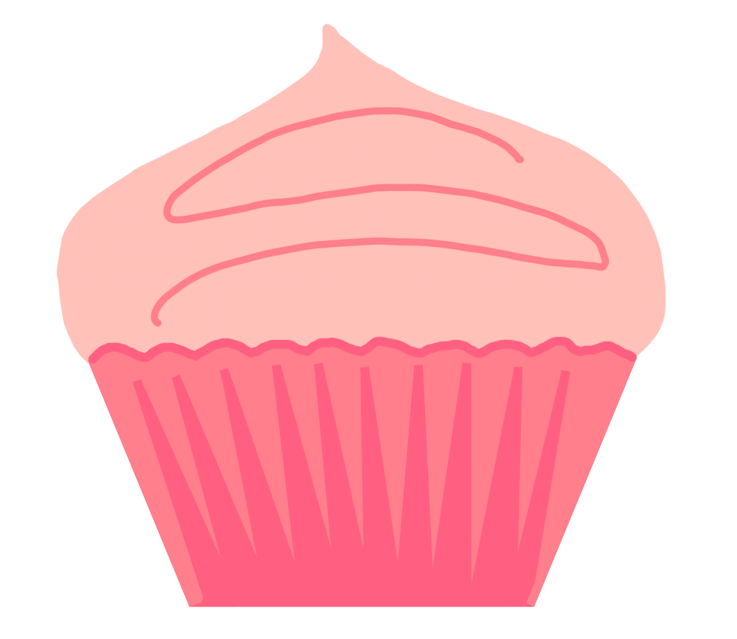 Heart cupcake clipart clip royalty free stock Bakery Cupcake Clipart | jokingart.com Cupcake Clipart clip royalty free stock