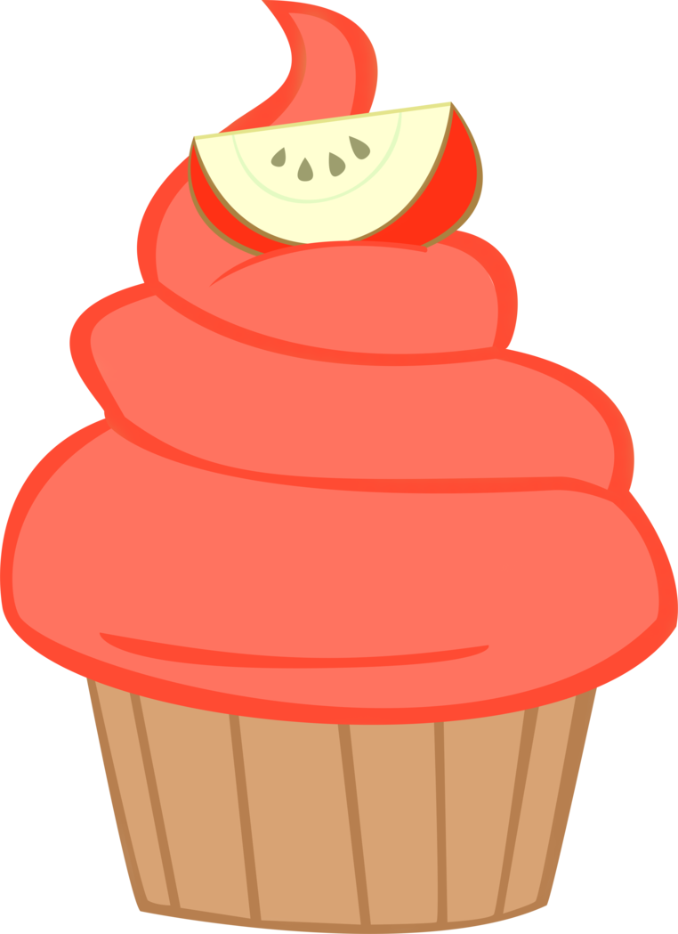 Taffy apple clipart vector library stock cupcakes png deviantart - Pesquisa Google | Cupcake- Clip Art ... vector library stock