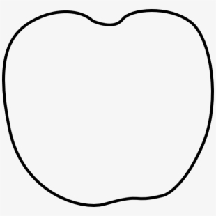 Apple no stem clipart image royalty free stock Apple Clipart Template - Pumpkin Outline Without Stem #588769 - Free ... image royalty free stock
