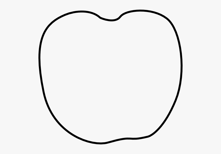 Apple stem clipart free vector library library Apple Clipart Template - Pumpkin Outline Without Stem #588769 - Free ... vector library library