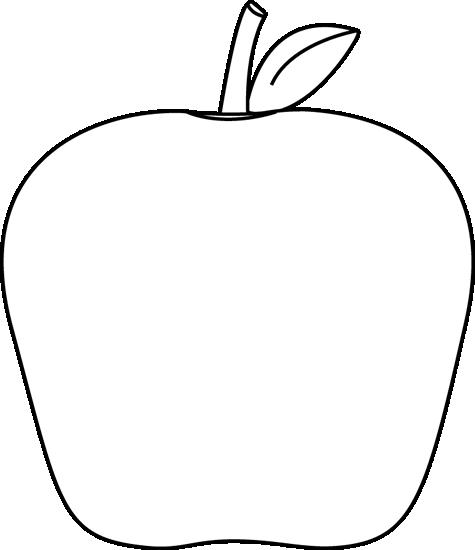 Apple no stem clipart clip art transparent stock Apple Outline Clip Art | Clipart Panda - Free Clipart Images clip art transparent stock