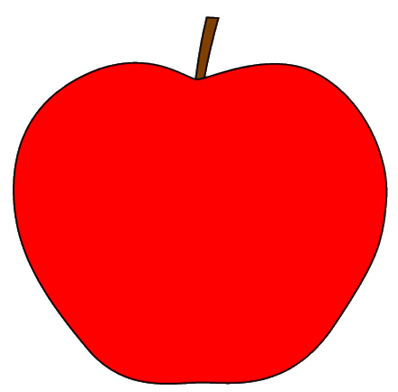 Apple no stem clipart jpg transparent library Apple no stem free clipart - Clip Art Library jpg transparent library