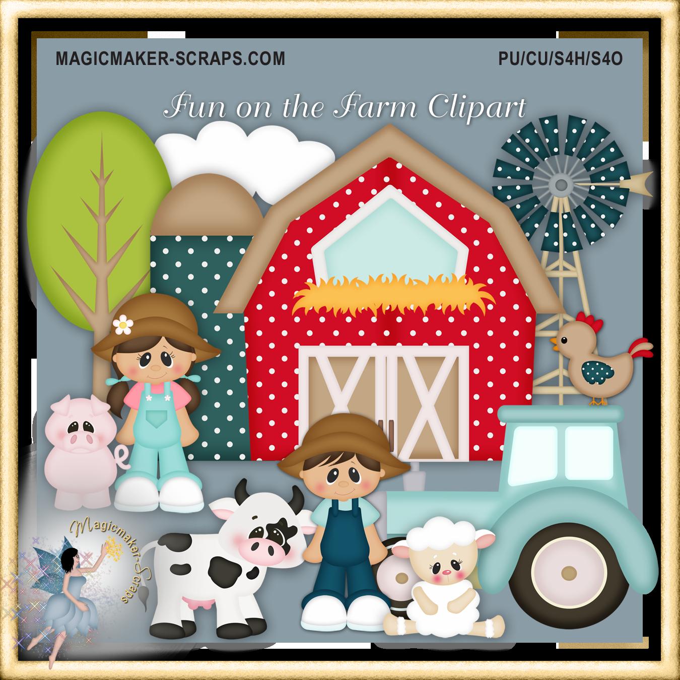 Apple on a farm clipart clip art download Autumn/Fall : Magicmaker-Scraps, shoppe clip art download