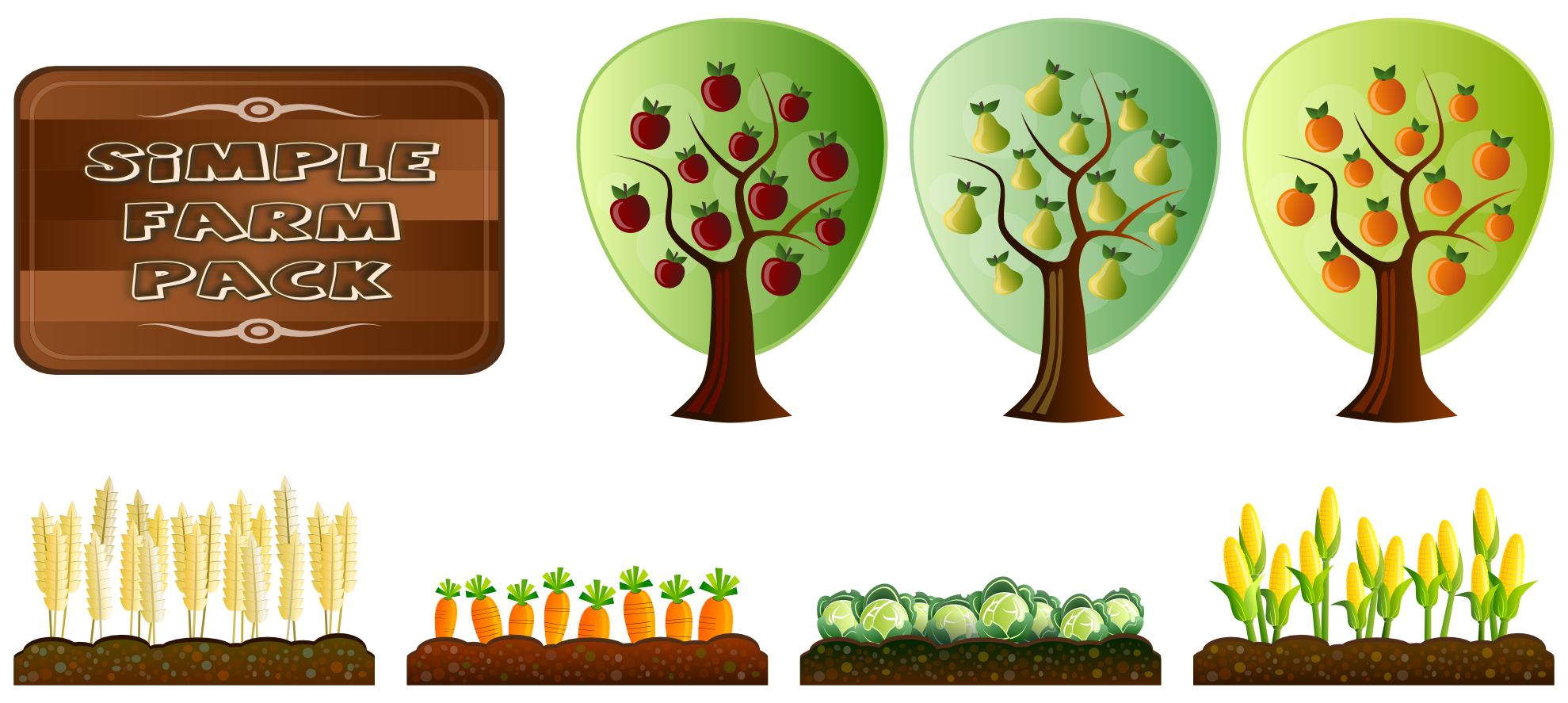 Apple on a farm clipart clipart transparent stock Clipart fall simple fall - Graphics - Illustrations - Free Download ... clipart transparent stock