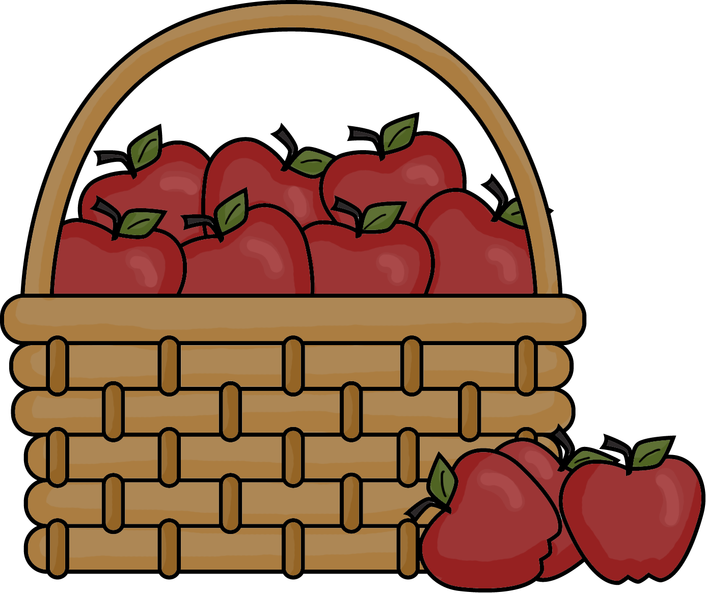 Family apple picking clipart image Just Keep Swimming Mama Fish!: Apple Picking....Groceries or Outing? image