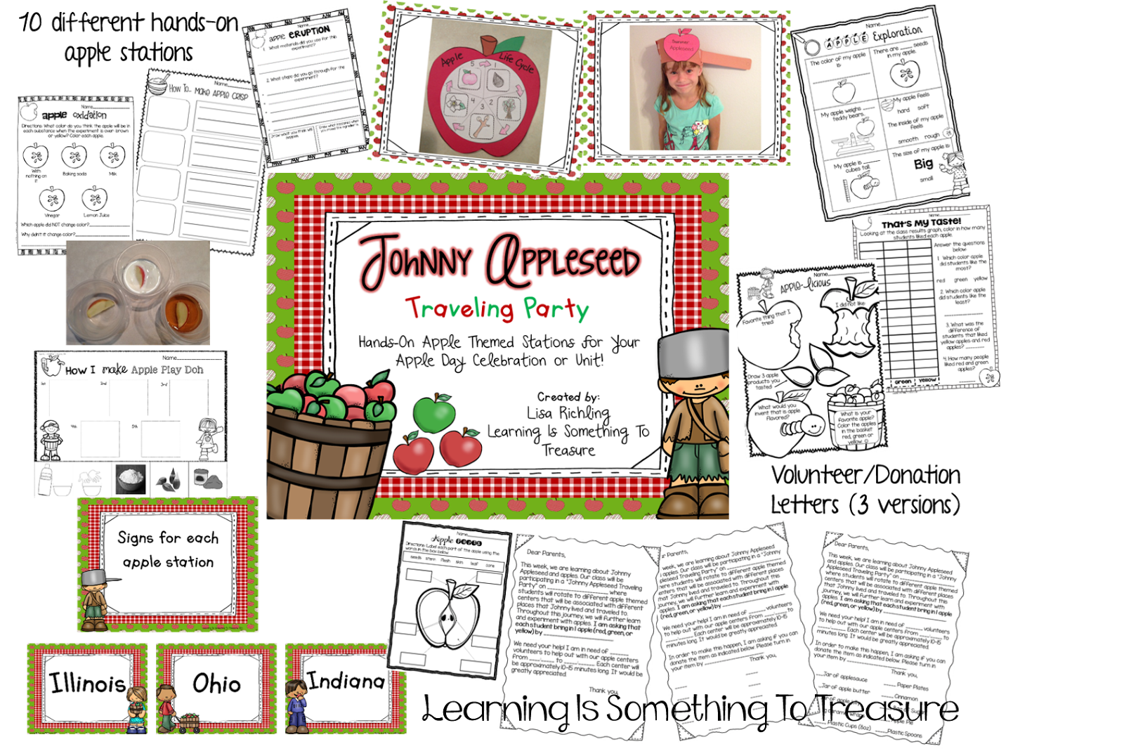 Apple parts clipart jpg freeuse download Learning is Something to Treasure: Johnny Appleseed Traveling Party ... jpg freeuse download