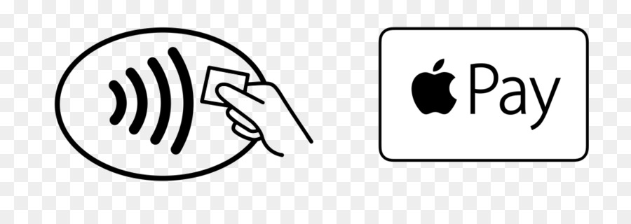 Apple pay icon clipart vector black and white download White Apple Logo png download - 1076*362 - Free Transparent Apple ... vector black and white download