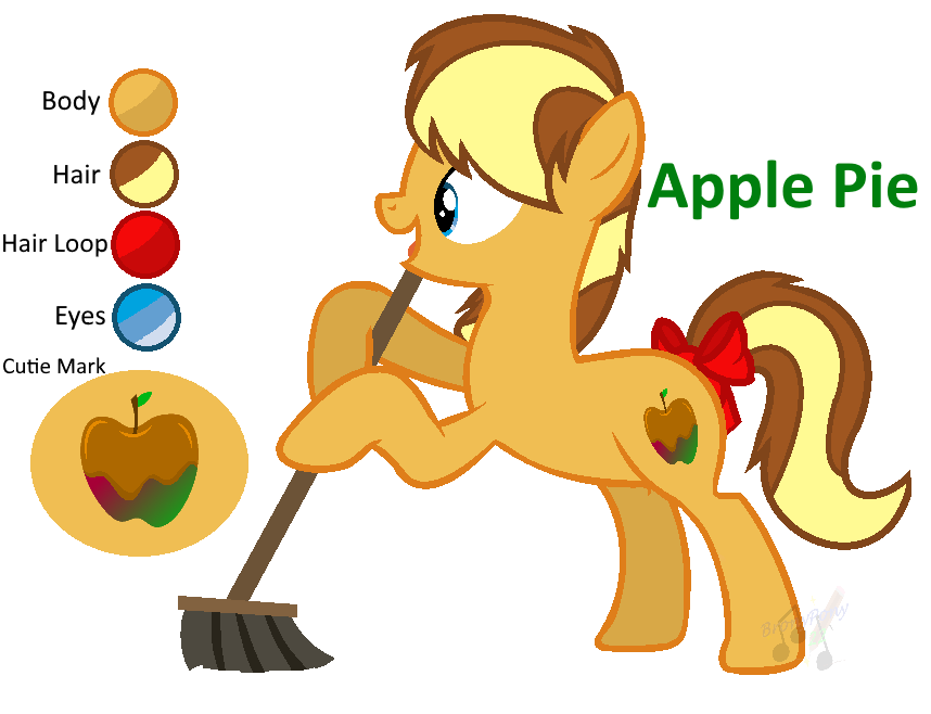 Apple pie image cute clipart banner library library MLP Apple Pie REF [Next Gen] by ShootingStarYT on DeviantArt banner library library