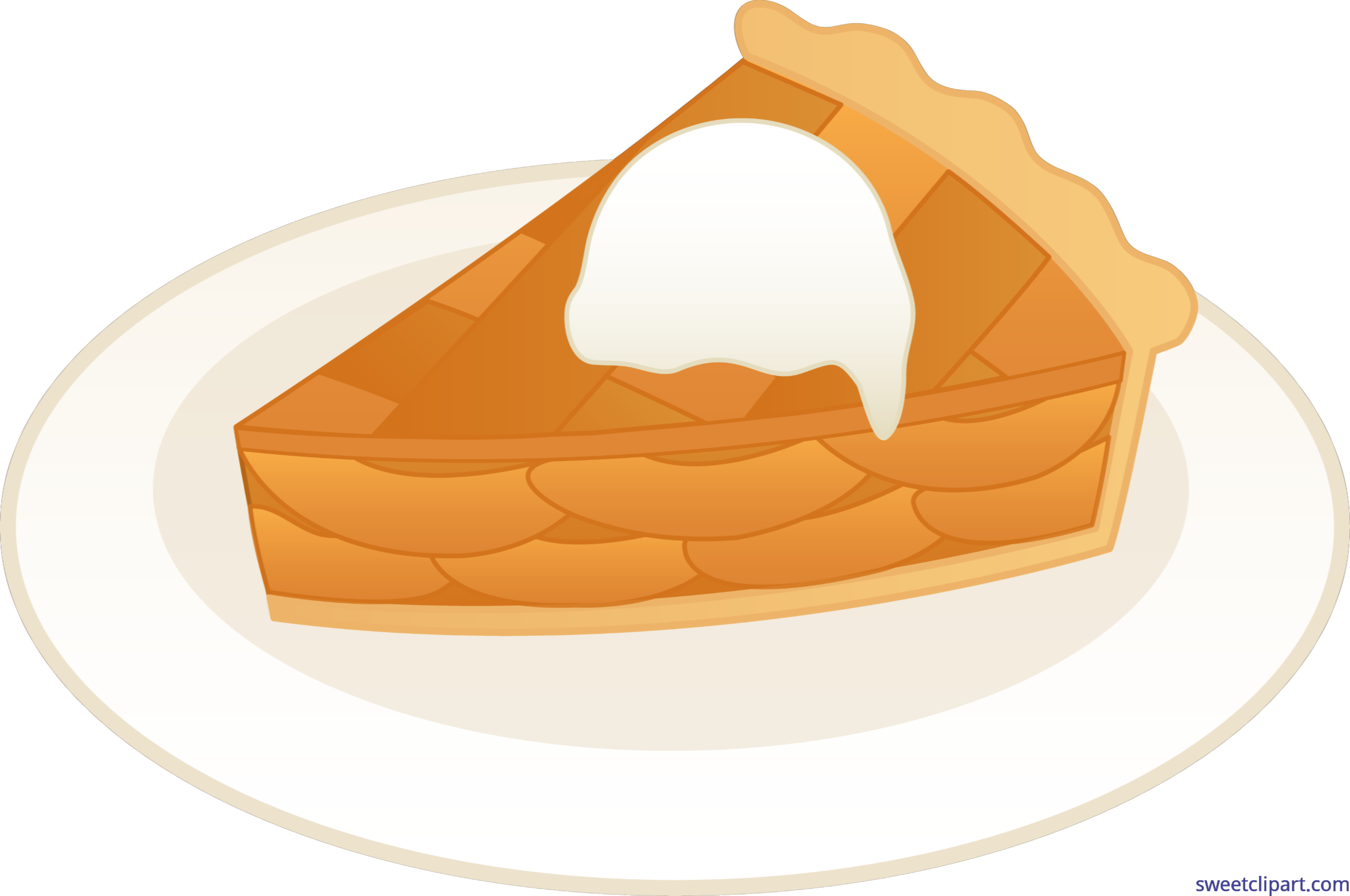 Apple pie free clipart picture royalty free library Apple Pie Ala Mode Clip Art - Sweet Clip Art picture royalty free library