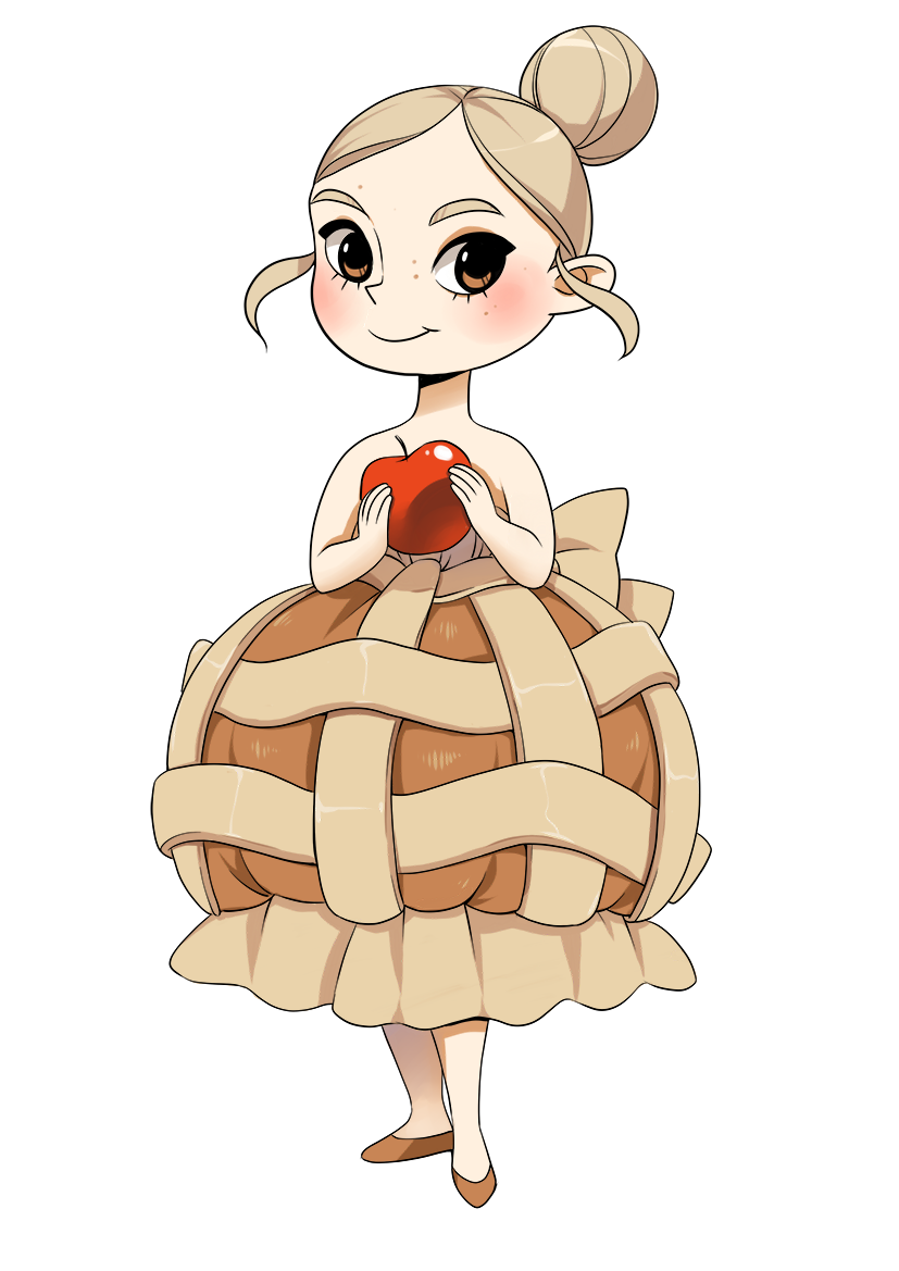 Apple pie image cute clipart png stock cartoon applepie by meago.deviantart.com on @DeviantArt | [Art] Give ... png stock