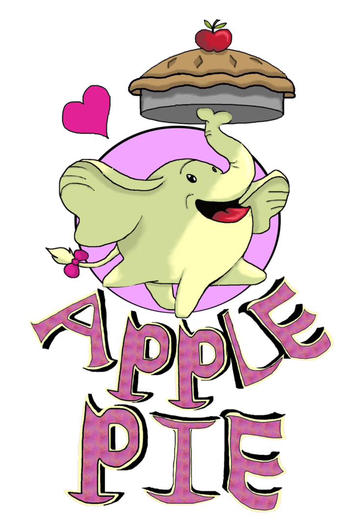 Apple pie image cute clipart svg library library Apple Pie by spotty-bee on DeviantArt svg library library
