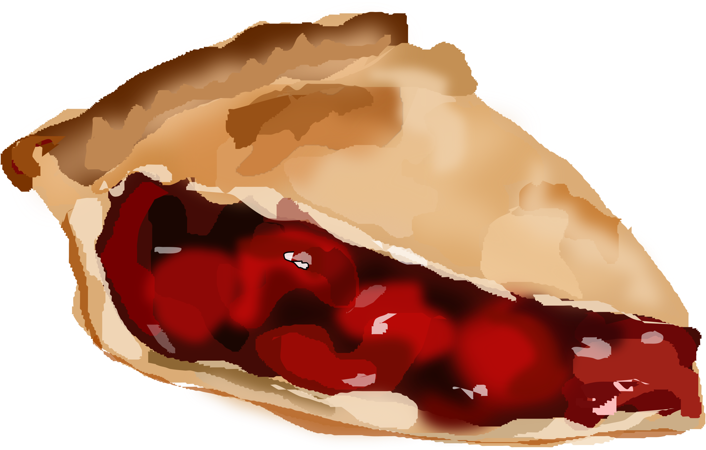 Apple pie slice clipart library Slice Of Cherry Pie Icons PNG - Free PNG and Icons Downloads library
