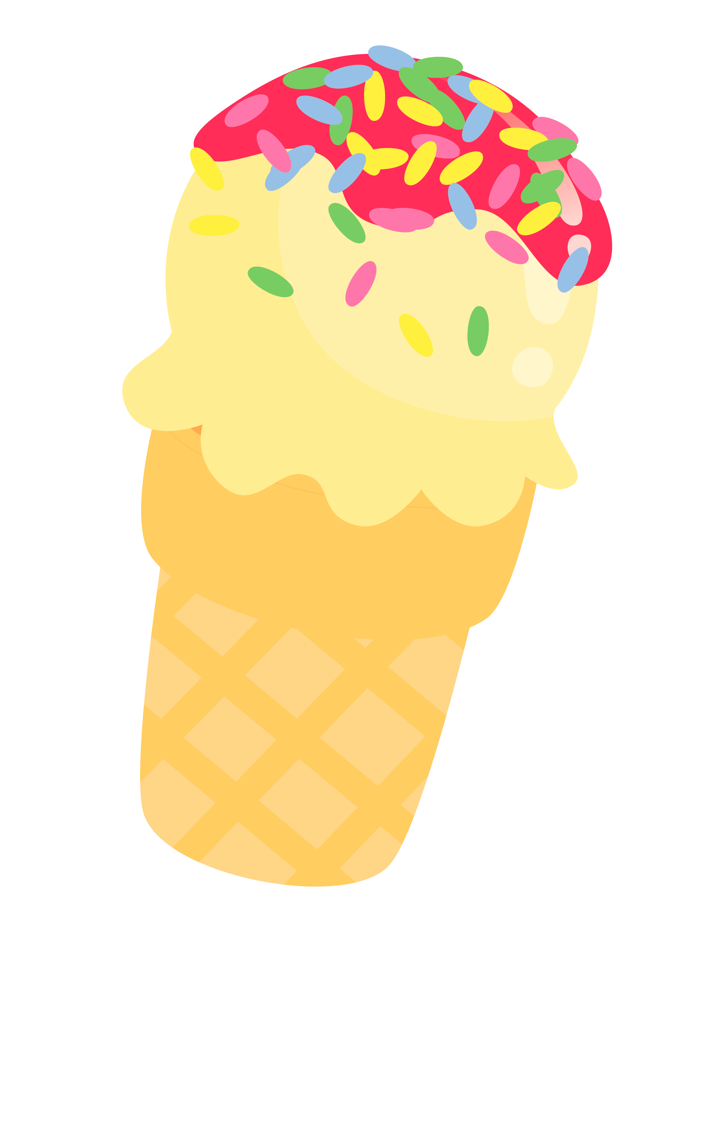 Apple pie with ice cream clipart image freeuse Ice Cream Clipart, ice cream cone clip art, cute illustration png ... image freeuse