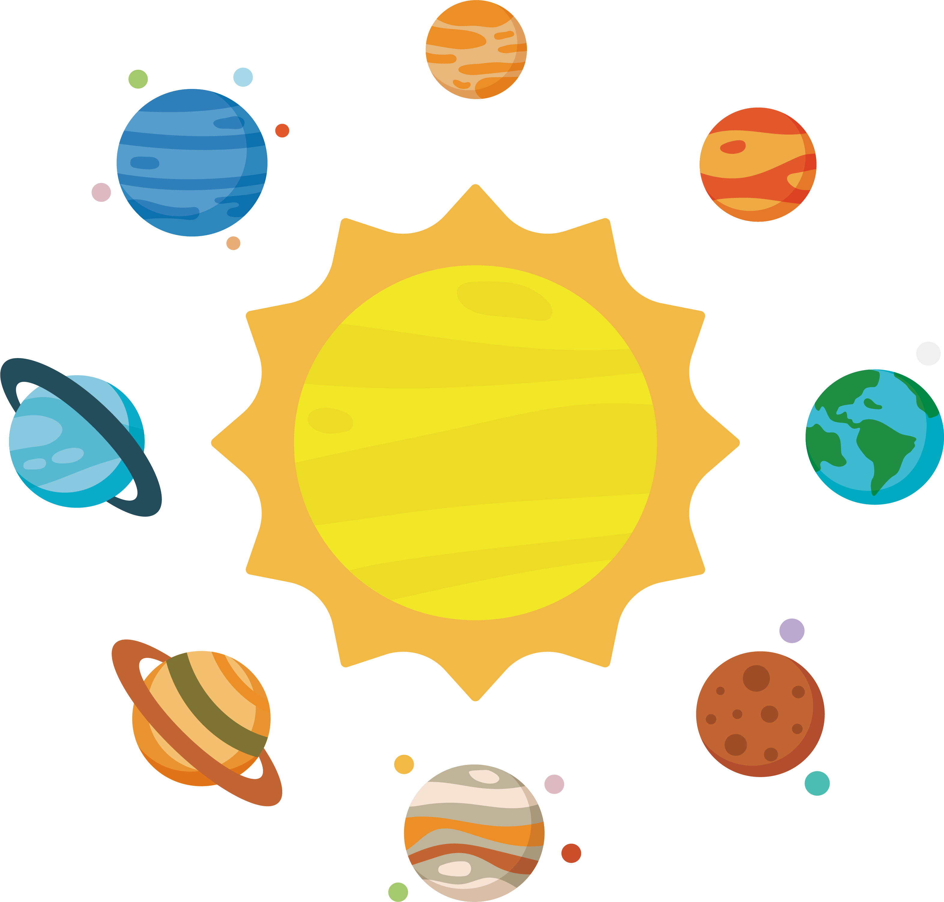Apple planet clipart clip art royalty free stock Solar System Planet Clip art - Astronomy solar system 3144*3003 ... clip art royalty free stock