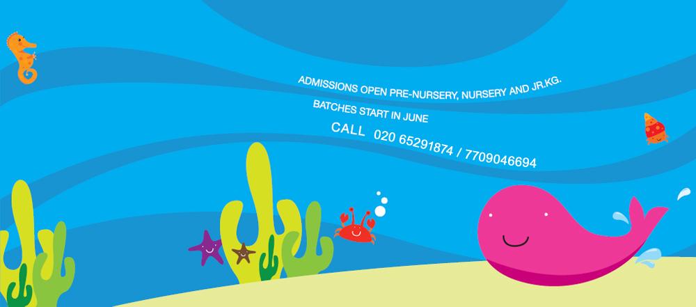 Apple preschool banner clipart banner Nursery School | Pre School | Play School in Pashan, Pune | Apple Blosom banner