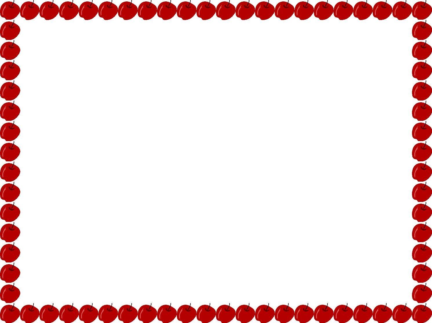 Apple preschool banner clipart svg royalty free stock Apple Border Clipart | Free download best Apple Border Clipart on ... svg royalty free stock