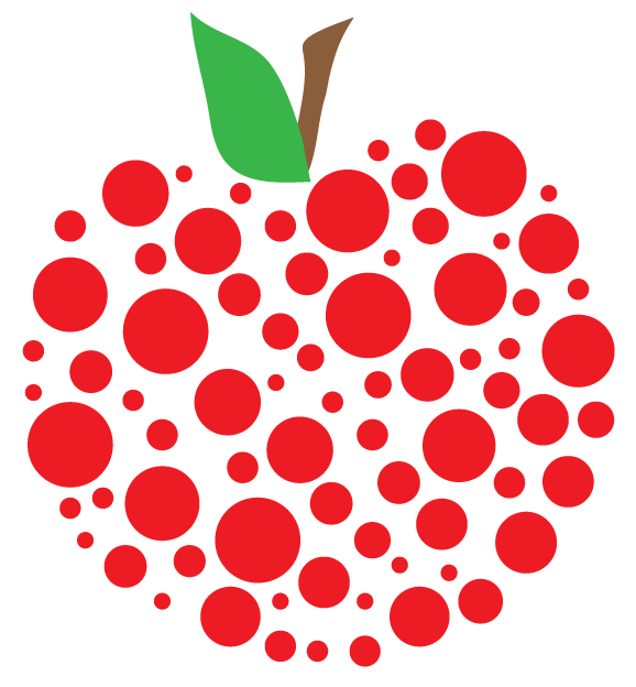 Apple preschool banner clipart picture black and white Teacher apple | Free Apple Clipart and printables for art projects ... picture black and white