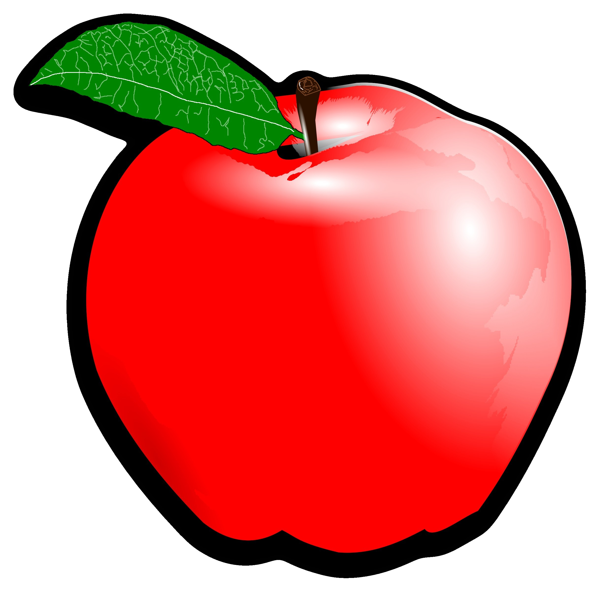 Apple produce clipart png freeuse library Red,Apple,Fruit,Clip art,Mcintosh,Plant,Graphics,Food,Tree,Seedless ... png freeuse library