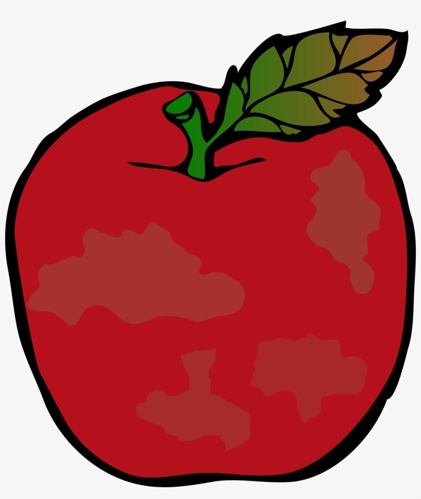 Apple produce clipart jpg black and white Clip art,Red,Leaf,Apple,Plant,Fruit,Food,Mcintosh,Illustration ... jpg black and white