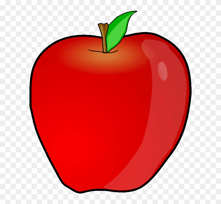Apple produce clipart vector stock Large Painted Apples Png Clipart Gallery Yopriceville - Apple Fruit ... vector stock